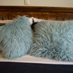fur pillows