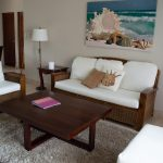spacious living room in Cabarete vacation condo