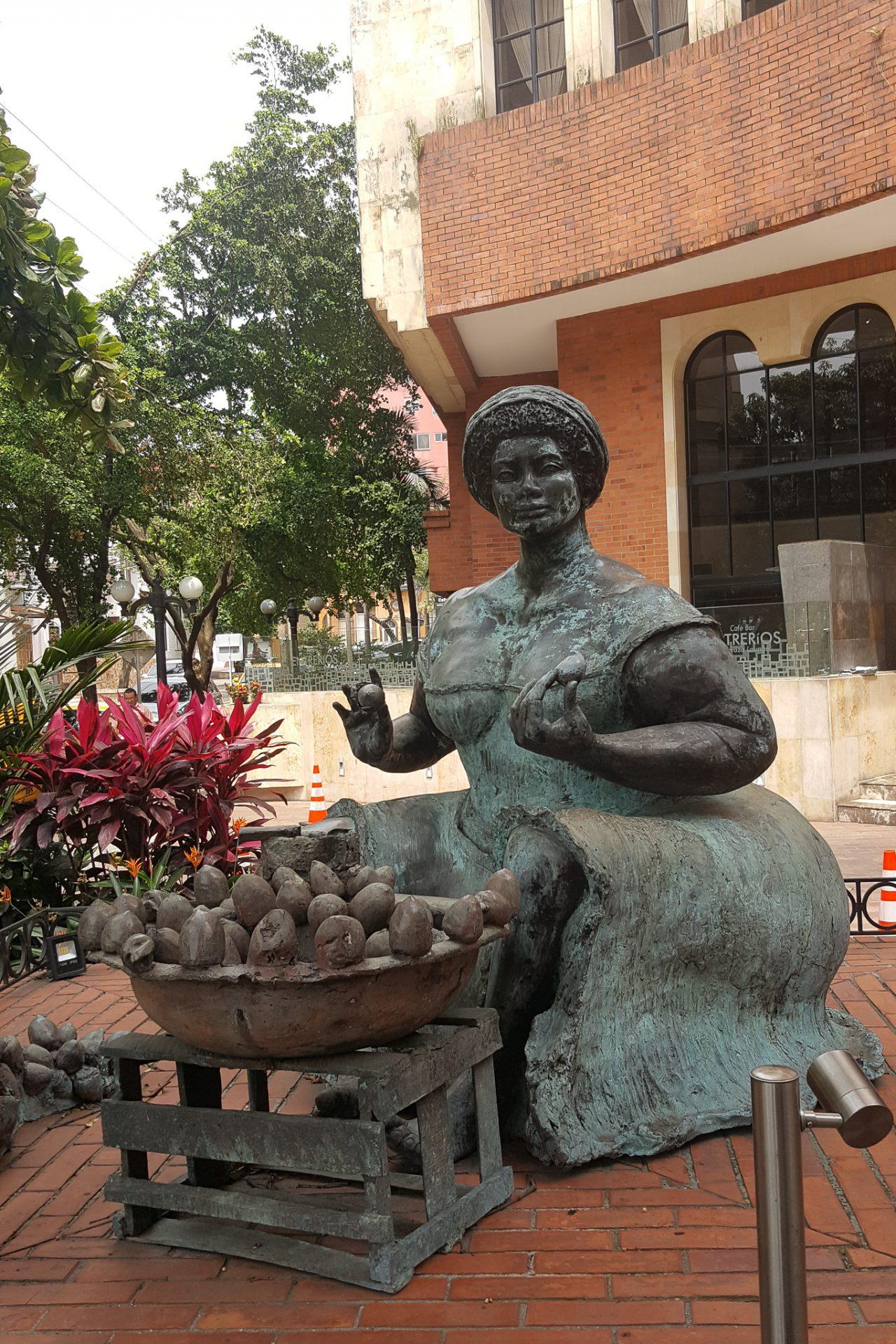 Monumenta de la Negra de Chontaduro